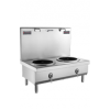 Double headed short soup stove